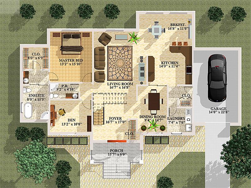 floor plan renderings