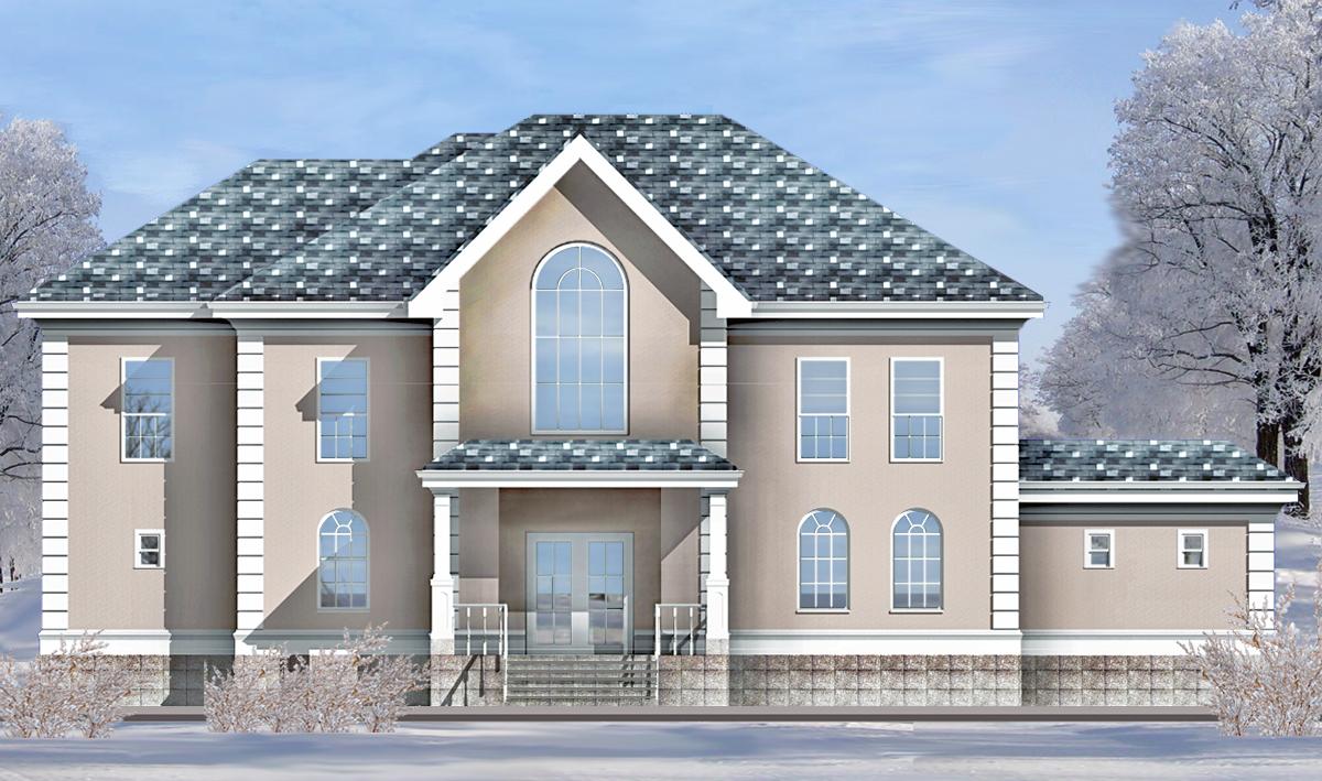 2d Building Elevations : D elevation rendering