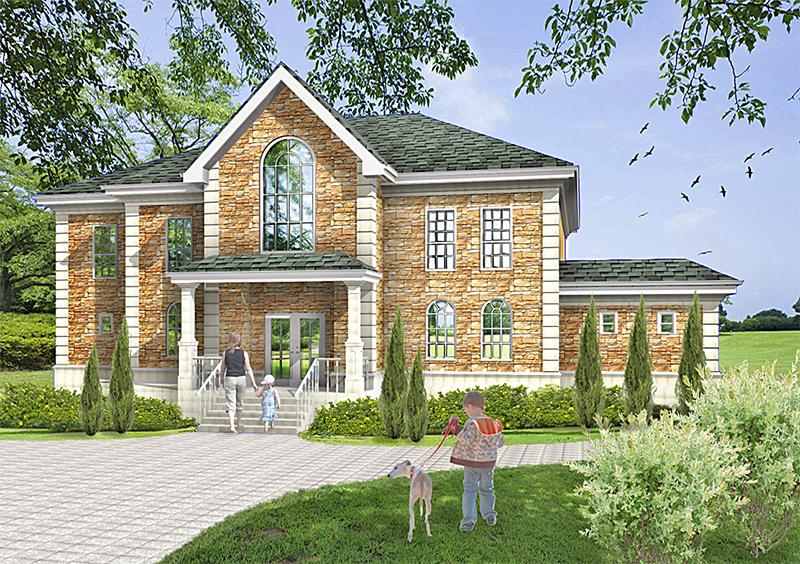 Exterior rendering for Exterior rendering
