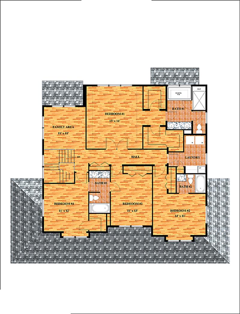 28 Floor Plan Renderings Color Floor Plan