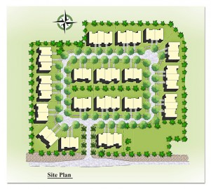 Site Plan Rendering